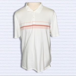 Calvin Klein men Ivory Short Sleeves Polo Shirt XL